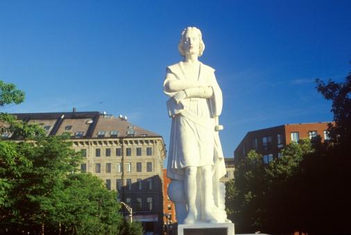 """Christopher Columbus - Explorer「""""Statue of Christopher Columbus, Boston, Massachusetts""""」:スマホ壁紙(1)"""