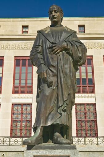 "Christopher Columbus - Explorer「""Statue of Christopher Columbus at City Hall in Columbus, Ohio ""」:スマホ壁紙(18)"