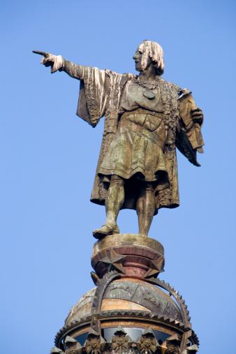 Christopher Columbus - Explorer「Statue of Christopher Columbus at Port Vell in Barcelona」:スマホ壁紙(5)