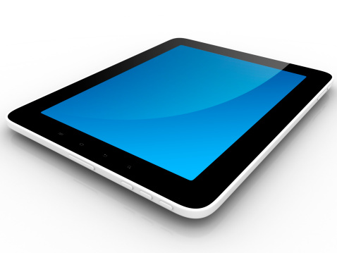 Touch Screen「Tablet Computer With Blank Screen Isolated」:スマホ壁紙(7)