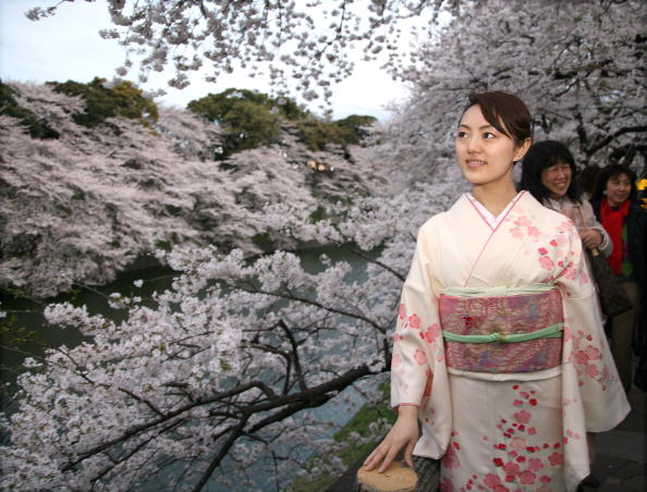 Tokyo - Japan「Cherry Blossoms Bloom In Japan」:写真・画像(17)[壁紙.com]