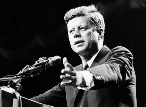 Politician「Kennedy Addressing」:写真・画像(7)[壁紙.com]