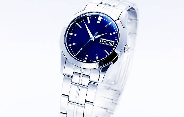 generic blue and silver watch for men:スマホ壁紙(壁紙.com)