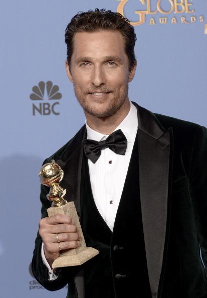Matthew McConaughey「71st Annual Golden Globe Awards - Press Room」:写真・画像(3)[壁紙.com]