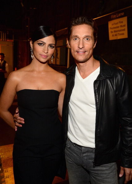 "Matthew McConaughey「Spike TV's ""Guys Choice 2014"" - Backstage And Audience」:写真・画像(10)[壁紙.com]"