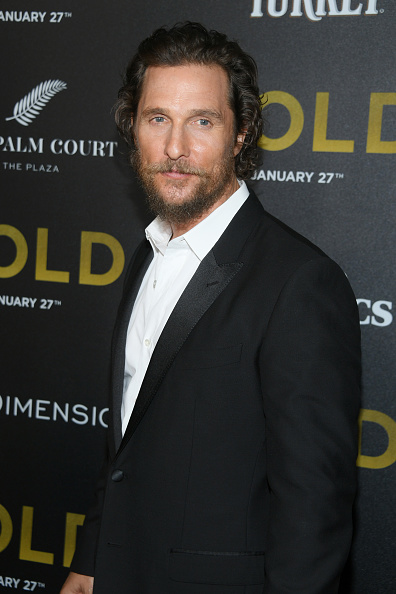 "Matthew McConaughey「TWC-Dimension with Popular Mechanics, The Palm Court & Wild Turkey Bourbon Host the Premiere of ""Gold""」:写真・画像(17)[壁紙.com]"
