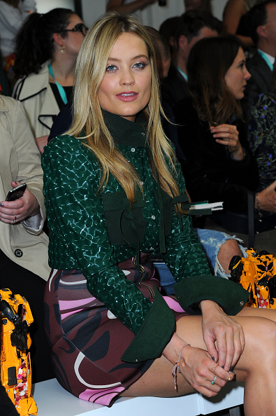 London Fashion Week「Front Row & Arrivals: Day 1 - LFW SS16」:写真・画像(8)[壁紙.com]