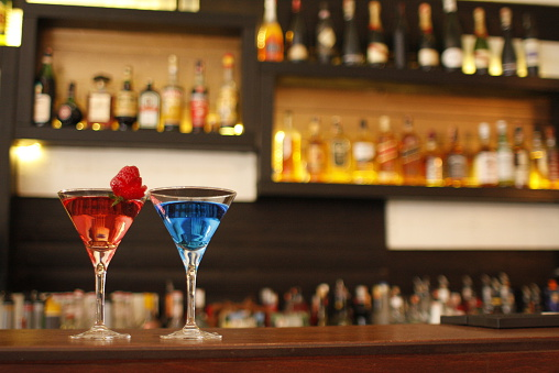 Cocktail「Albania, Tirana, Red and blue」:スマホ壁紙(9)