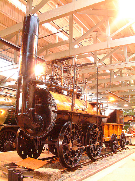 Motion「The first train on the Stockton & Darlington Railway was hauled by Locomotion No 1 which was subsequently retained for preservation when withdrawn from service. The locomotive is now resident in the Darlington Museum where it is kept in excellent conditi」:写真・画像(9)[壁紙.com]