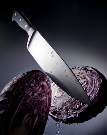 Cabbage「Knife cutting cabbage」:スマホ壁紙(14)