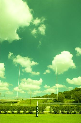 Goal Post「Goalpost on football field」:スマホ壁紙(17)