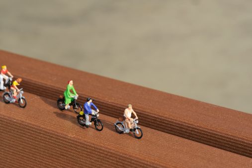 Figurine「The figure of the person who rides on the bicycle」:スマホ壁紙(7)
