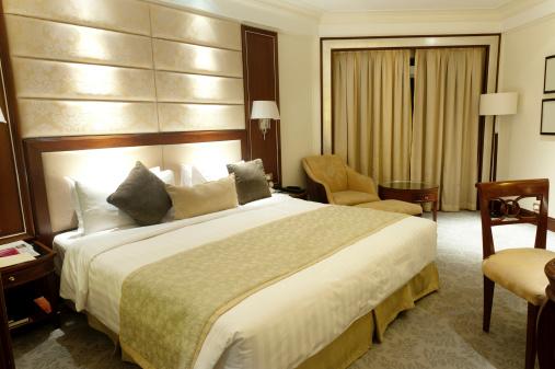 Twin Bed「Luxury Shangri-la Hotel Room」:スマホ壁紙(12)