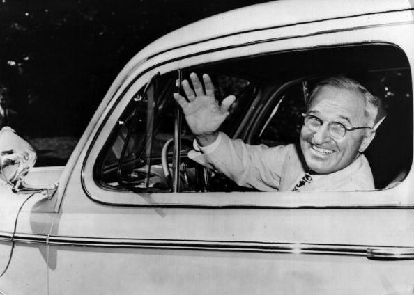 Harry Truman「Truman At Wheel」:写真・画像(13)[壁紙.com]
