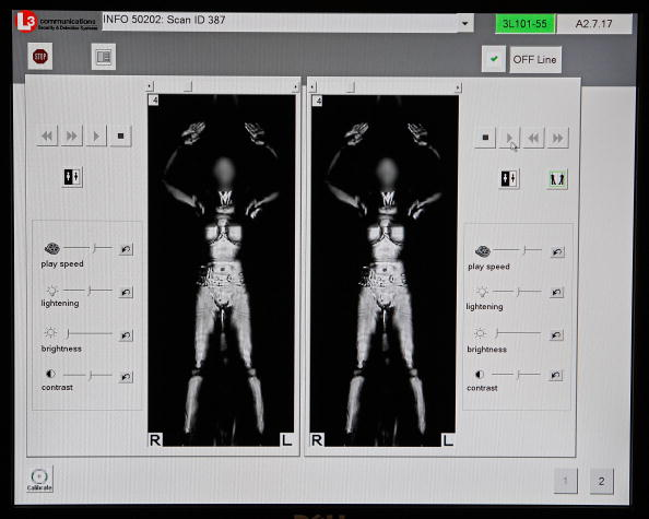 税関「TSA Demonstrates New Imaging Technology At Reagan National Airport」:写真・画像(8)[壁紙.com]