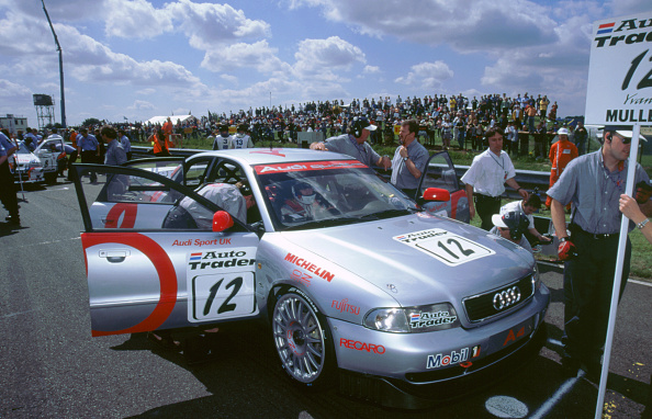 Sports Track「Yvan Muller's Audi A4 on starting grid Thruxton circuit Andover Hampshire 1998」:写真・画像(7)[壁紙.com]