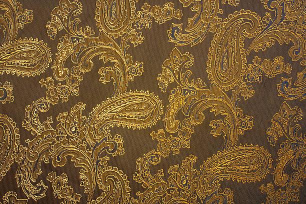 Fabric texture with indian ornaments:スマホ壁紙(壁紙.com)