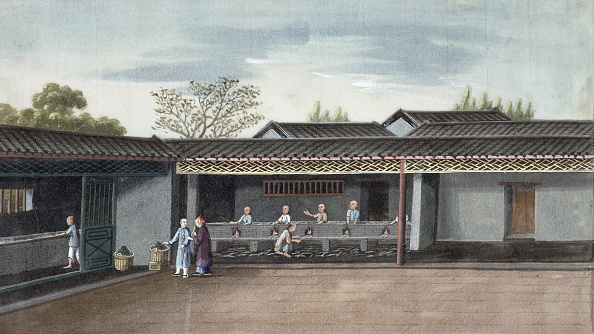 Ingredient「Drying Tea Leaves China 19th Century」:写真・画像(18)[壁紙.com]