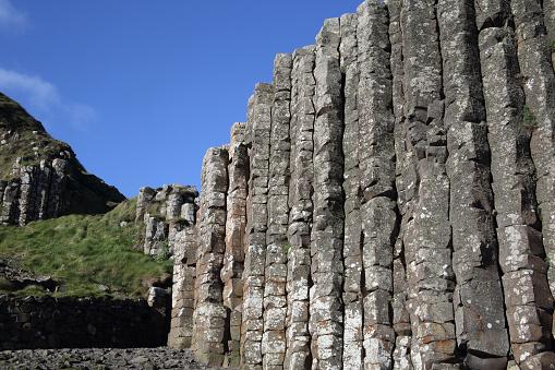 Basalt「Tall basalt columns, Giant's Causeway, N.Ireland.」:スマホ壁紙(5)