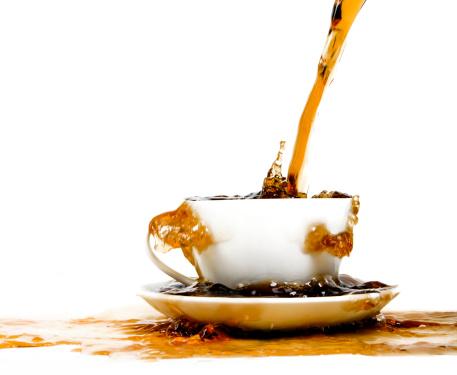 Pouring「coffee splash」:スマホ壁紙(18)