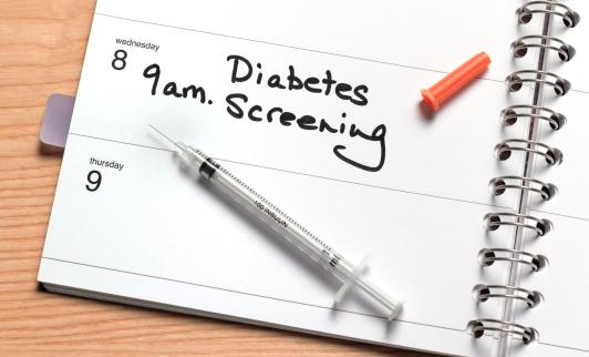 Diary「Diabetes screening in diary」:スマホ壁紙(16)