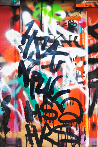 Ghetto「Colorful graffiti on a concrete wall.」:スマホ壁紙(13)