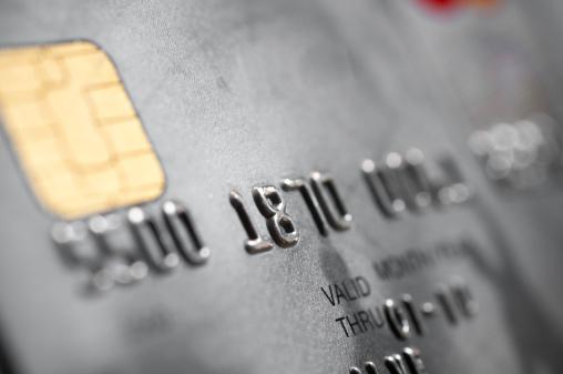 数字の8「シルバーのクレジットカード」:スマホ壁紙(6)