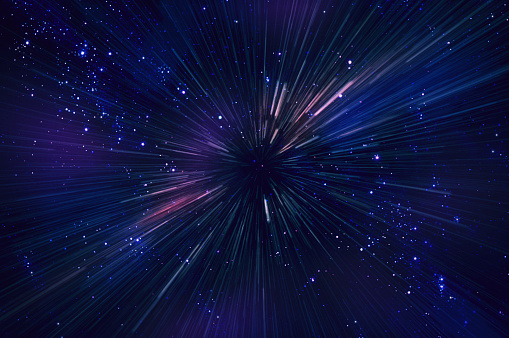 Star Trail「Stars and Streaks」:スマホ壁紙(18)
