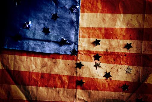 Ugliness「Stars and stripes - Custom made American flag」:スマホ壁紙(0)