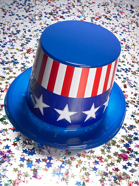 Stars and stripes top hat:スマホ壁紙(壁紙.com)