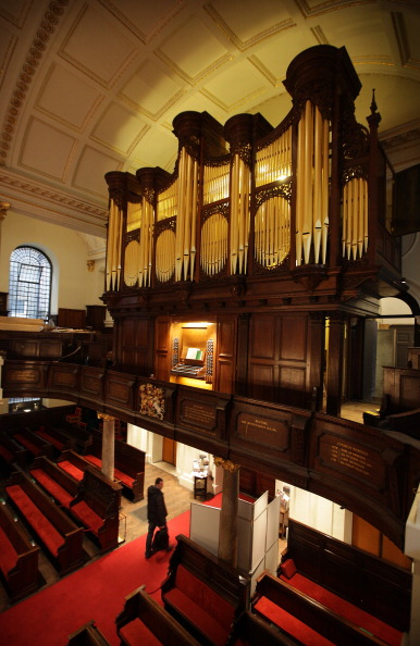 Construction Equipment「St George's Church Continues Its Restoration With The Installation Of The First American Built Organ In London」:写真・画像(5)[壁紙.com]