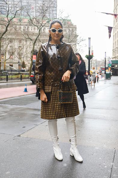 Achim Aaron Harding「Street Style - New York Fashion Week February 2019 - Day 2」:写真・画像(16)[壁紙.com]