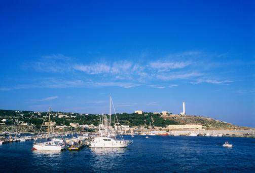 Resort「Italy,Apulia,Lecce,Santa Maria di Leuca, boats in port 」:スマホ壁紙(15)