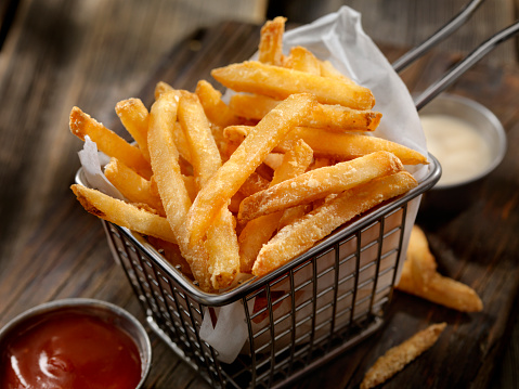 Food and Drink「Basket of French Fries」:スマホ壁紙(7)