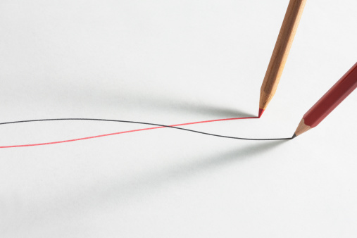Pencil「Color pencils line on paper」:スマホ壁紙(17)
