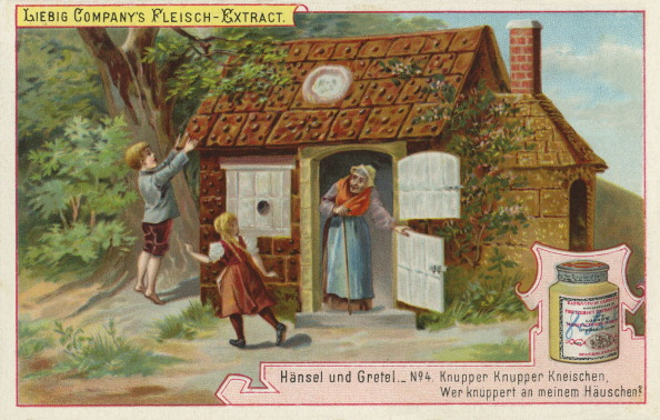 Chromolithograph「Hansel and Gretel by the Brothers Grimm」:写真・画像(5)[壁紙.com]