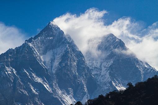 Himalayas「Mount Lhotse in Nepal Himalayas」:スマホ壁紙(14)