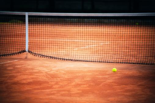 クレイコート「クレイコートでのテニス」:スマホ壁紙(2)