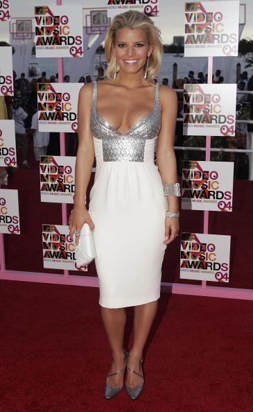 Jessica Simpson「2004 MTV Video Music Awards - Arrivals」:写真・画像(16)[壁紙.com]
