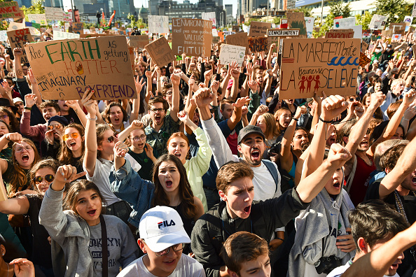 Environment「Climate March Held In Montreal, Canada」:写真・画像(15)[壁紙.com]