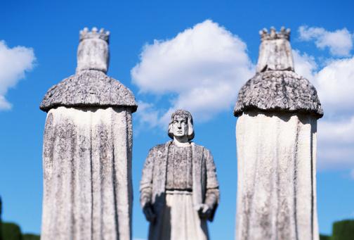 Christopher Columbus - Explorer「Spain, Cordoba, Alcazar Gardens, Christopher Columbus and Catholic kin」:スマホ壁紙(17)