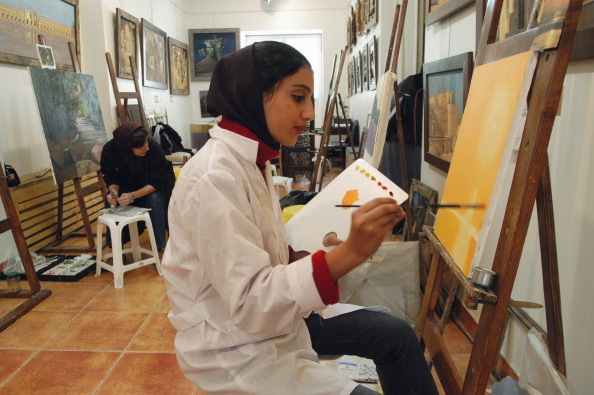 Painting - Activity「Tehran Art Class」:写真・画像(5)[壁紙.com]