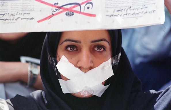 One Woman Only「Tehran Demo」:写真・画像(6)[壁紙.com]