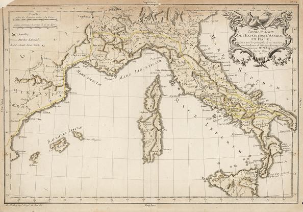 Map「Hannibal's Route」:写真・画像(8)[壁紙.com]