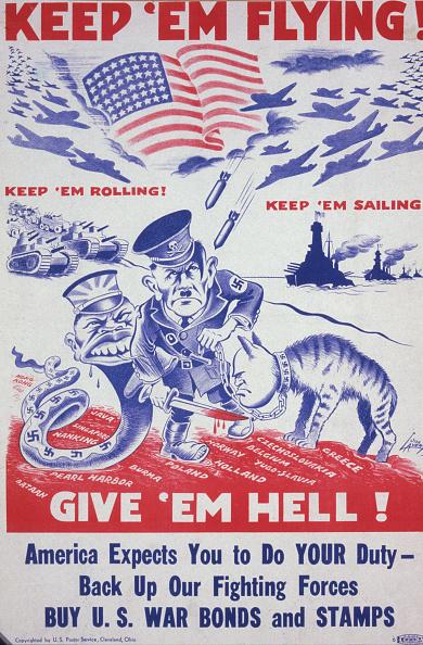 Cartoon「'Keep 'Em Flying! Give 'Em Hell!'」:写真・画像(2)[壁紙.com]