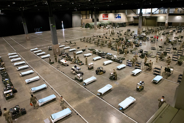 Washington State「Mobile Hospital Constructed At CenturyLink Convention Center In Seattle」:写真・画像(16)[壁紙.com]