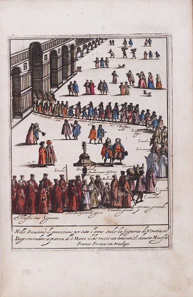 San Marco Quarter「Procession Of The Doge And His Entourage In The Piazza San Marco In Venice」:写真・画像(16)[壁紙.com]