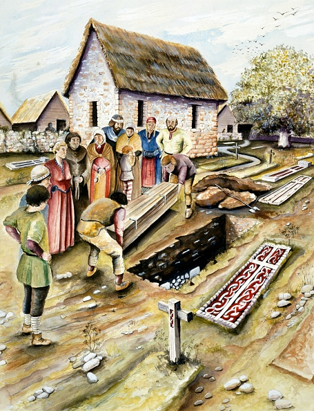 York - Yorkshire「Viking Burial In A Churchyard」:写真・画像(12)[壁紙.com]