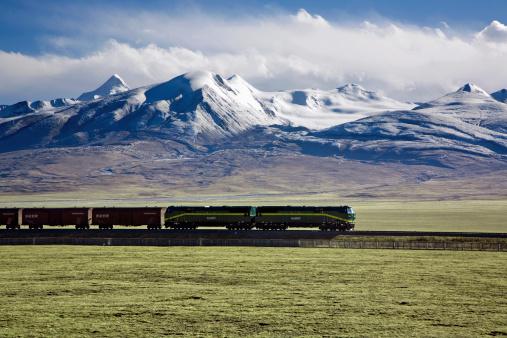 Side View「Qinghai-Tibet Railway」:スマホ壁紙(3)