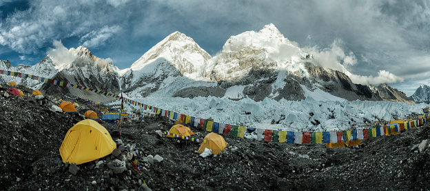 Sagarmāthā National Park「Nepal, Solo Khumbu, Everest, Sagamartha National Park, Base Camp」:スマホ壁紙(0)